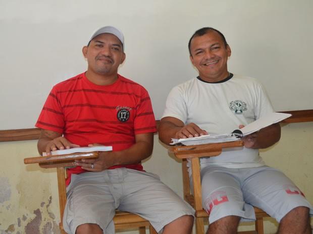 Glayson Renato e José Augusto cumprem pena por tráfico de drogas. (Foto: Luana Leão/G1)