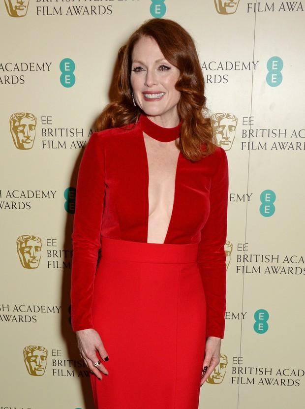Julianne Moore no BAFTA (Foto: Getty Images)