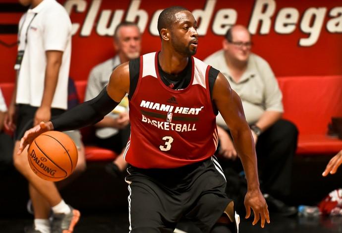 Dwyane Wade, basquete, Miami Heat (Foto: Alexandre Loureiro/Inovafoto)