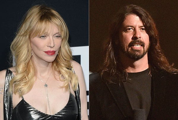 Courtney Love e Dave Grohl (Foto: Getty Images)