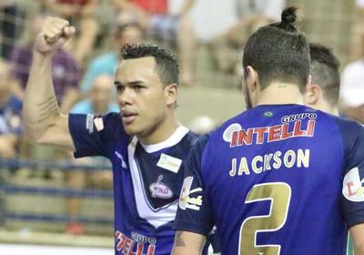 Dieguinho Jackson Orlândia Assoeva liga nacional de futsal (Foto: Márcio Damião/Divulgação)