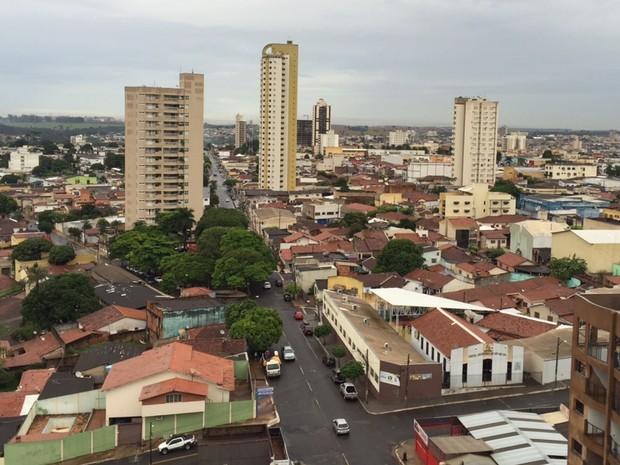 Rio Verde é a primeira cidade a encerrar transmissão por sinal analógico Goiás (Foto: Murillo Velasco/G1)