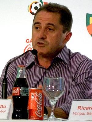 presidente da Federação Gaúcha de Futebol, Francisco Novelletto (Foto: Eduardo Cecconi / Globoesporte.com)