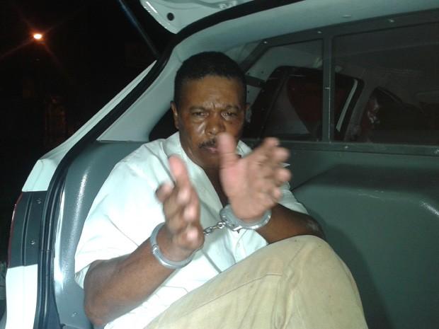 Suspeito confessou ter matado garota e foi preso em Miracatu, SP  (Foto: Rinaldo Rori / G1)