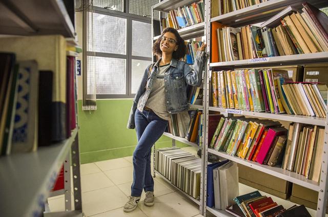 Heslaine Vieira, a Ellen da nova temporada de 'Malhação' (Foto: Mauricio Fidalgo/ TV Globo)