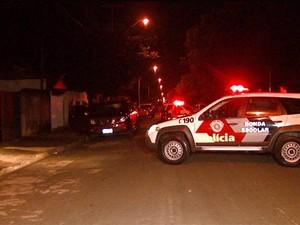 Agente penitenciário foi baleado após sair do trabalho em Hortolândia (Foto: Reprodução / EPTV)