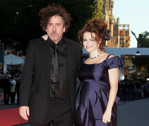 Helena Bonham Carter e Tim Burton em 2007 (Foto: Getty Images)