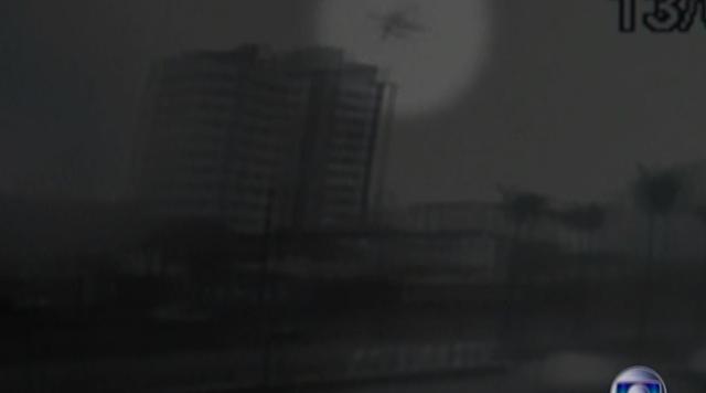Imagens inéditas mostram pela 1ª vez a queda do avião que matou Campos