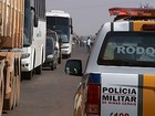 Protesto contra aumento de roubos de carga fecha rodovia em Uberaba