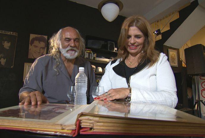 Claudio e a esposa contam como lidam com o ciúme no dia-a-dia (Foto: Reprodução / TV TEM)