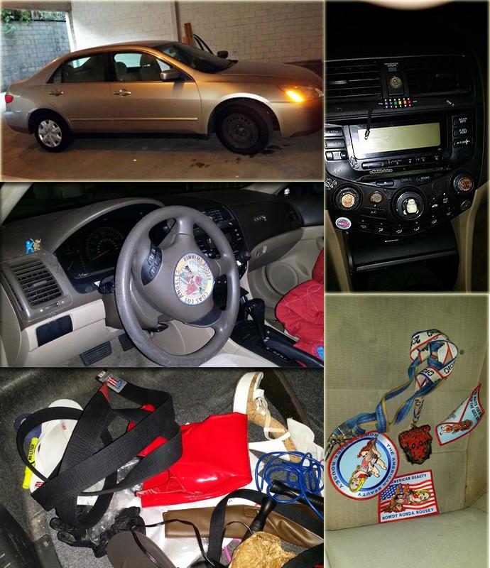 Montagem Carro Ronda eBay (Foto: Montagem Reprodução)