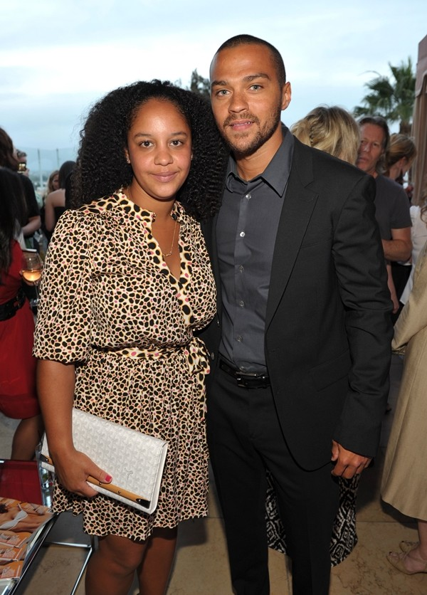 Aryn Drake-Lee e Jesse Williams  (Foto: Getty Images)