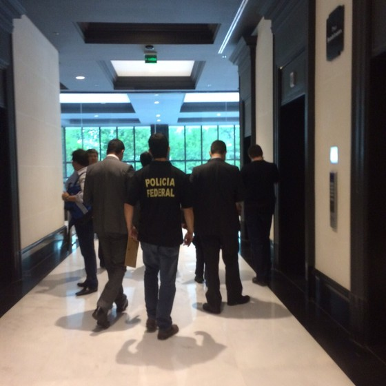 Polícia Federal faz busca na sede do BTG em São Paulo (Foto: Reprodução)