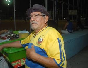 Seu Messias Copa Marcílio Dias (Foto: Gabriel Penha/GE-AP)