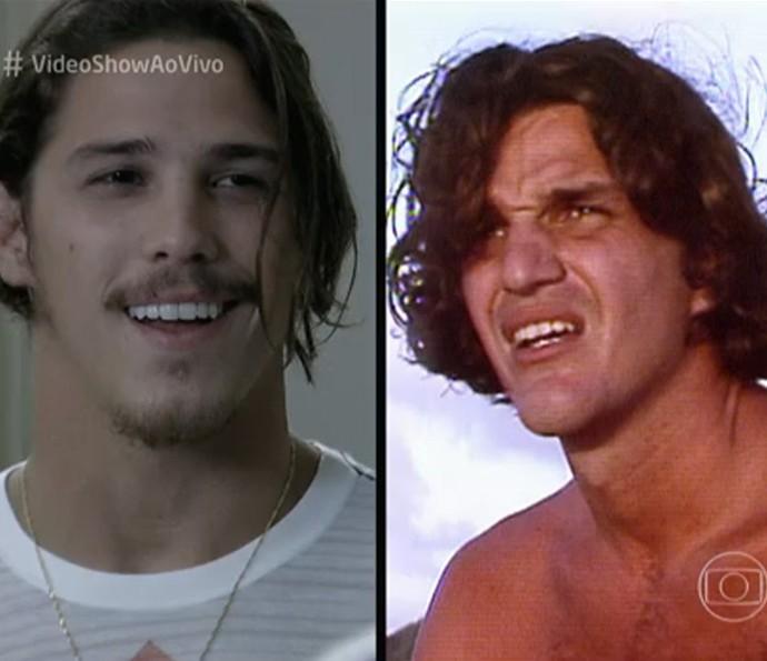 Rômulo Neto relembrou a carreira do pai, Rômulo Arantes (Foto: TV Globo)