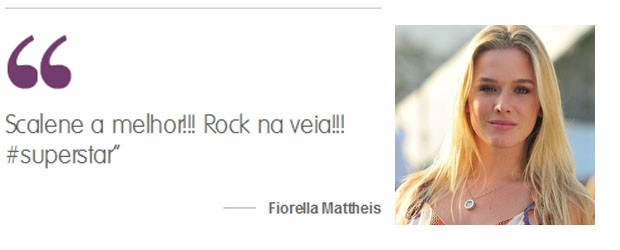 Fiorella Mattheis (Foto: Gshow)