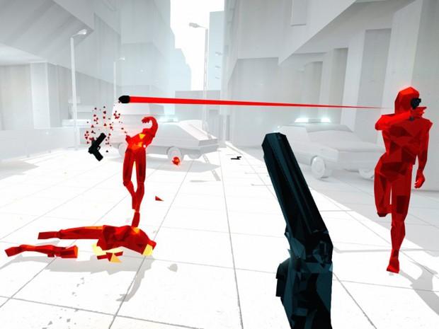 'Superhot' é principal concorrente do 4º BIG Festival, premiação de games independentes (Foto: Divulgação)