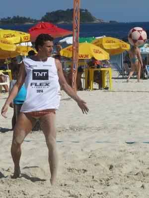 Elano Grêmio Guarujá (Foto: Flávio Meireles)