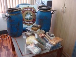 Material apreendido na manhã desta terça (Foto: Divulgação/Polícia Federal)