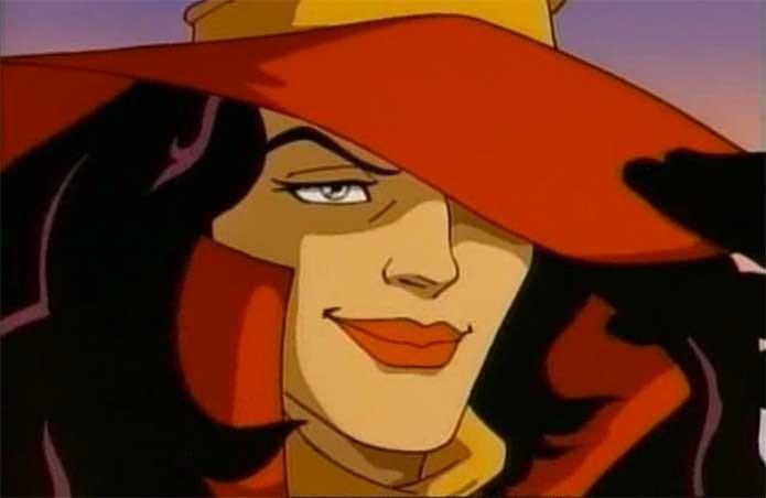 O desenho que fez a fama de Carmen Sandiego (Foto: Reprodução/YouTube)