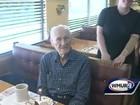 Promoção faz restaurante devolver dinheiro a aniversariante de 101 anos