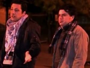 Dupla de argentinos foi roubada em Porto Alegre (Foto: Reprodução/RBS TV)