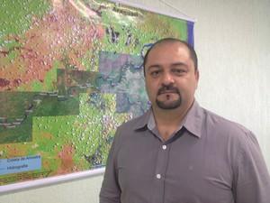 Secretário de Meio Ambiente, Marcelo Creão (Foto: Jéssica Alves/G1)