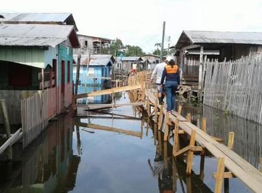 enchente-amazonas (Foto: Defesa Civil/AM)