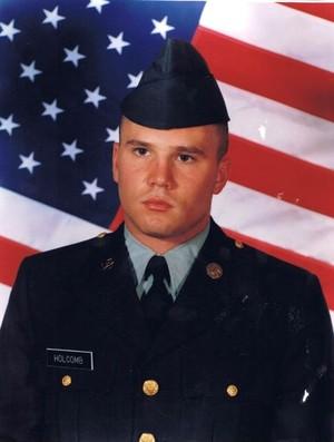 Steven Holcomb No Serviço Militar (Foto: Reprodução Facebook)