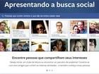 Nova busca social do Facebook tem potencial de receita, dizem analistas