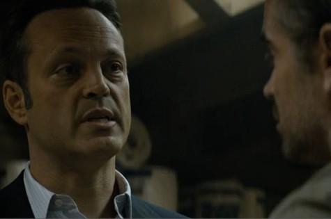 Vince Vaughn em cena de 'True detective' com Colin Farrell (Foto: Reprodução)