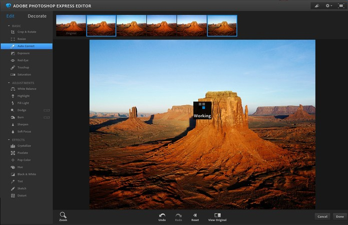 Photoshop Express (Foto: Reprodução/Barbara Mannara)