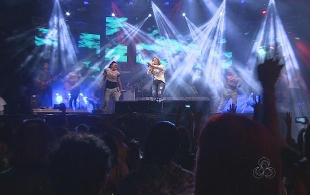 Shows seguem até sábado comatrações locais e nacionais (Foto: Amapá TV)