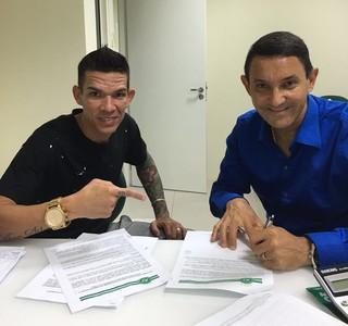 Rodrigo Andrade Chapecoense (Foto: Divulgação)