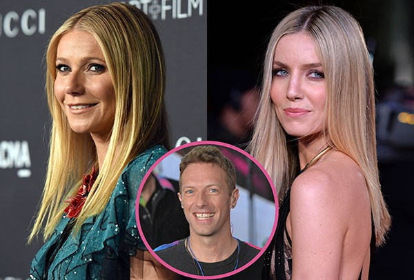 Chris Martin, Gwyneth Paltrow e Annabelle Wallis (Foto: Getty Images)