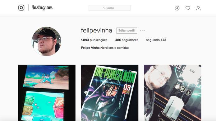 Respeite as diretrizes de comunidade do Instagram para não ter a conta suspensa (Foto: Reprodução/Felipe Vinha)