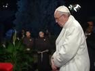Papa celebra vigília de Páscoa