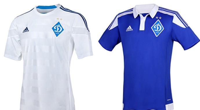 Camisas Champions dinamo de kiev