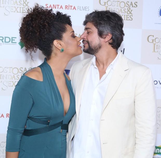 Juliana Alves e Ernani Nunes (Foto: Anderson Borde/AgNews)