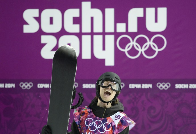 Podladtchikov snowboard (Foto: AFP)