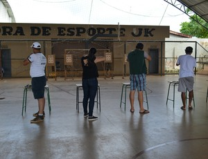 Campeonato de Tiro Esportivo de Ar Comprimido  (Foto: Lívia Costa)