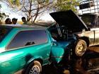 Batida envolvendo dois carros deixa um morto e dois feridos na BA-026