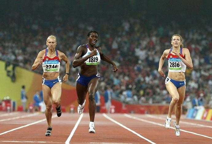 Tatyana Firofova perdeu a medalha no 4x400m (Foto: Getty Images)