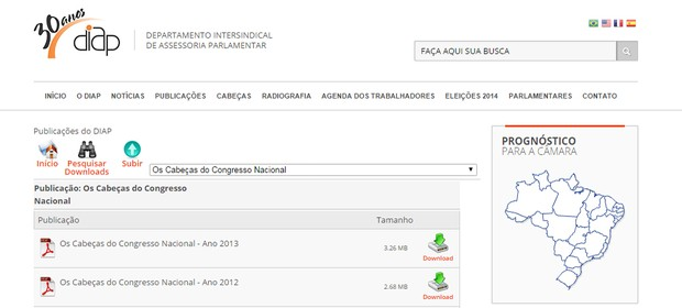 Desde 1994 o Departamento Intersindical de Assessoria Parlamentar faz avaliações anuais dos parlamentares (Foto: Reprodução)