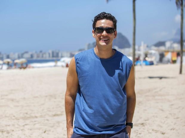 Marcos Veras interpreta Norberto em Babilônia (Foto: Raphael Dias/Gshow)