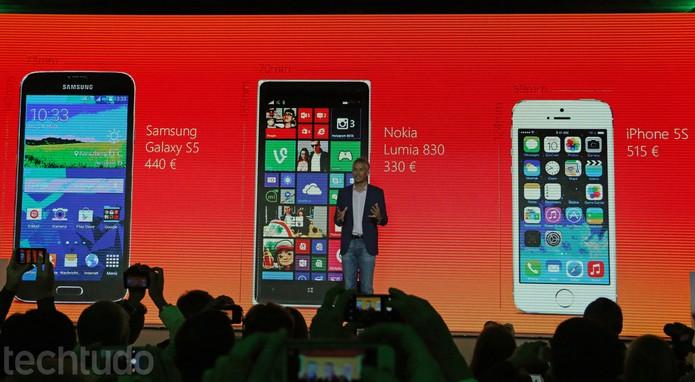 Microsoft MoreLumia Lumia 830 preços (Foto: Fabrício Vitorino/TechTudo)