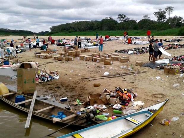 Mercadoria seria vendida em novenários que ocorreu na cidade amazonense Ipixuna  (Foto: Reprodução/WhatsApp)