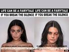 Kim Kardashian não autorizou imagem para campanha contra violência