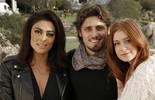 Atores posam em cliques inéditos no Uruguai