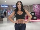 Não favoreceu: Gracyanne Barbosa sai com barriga estranha em foto